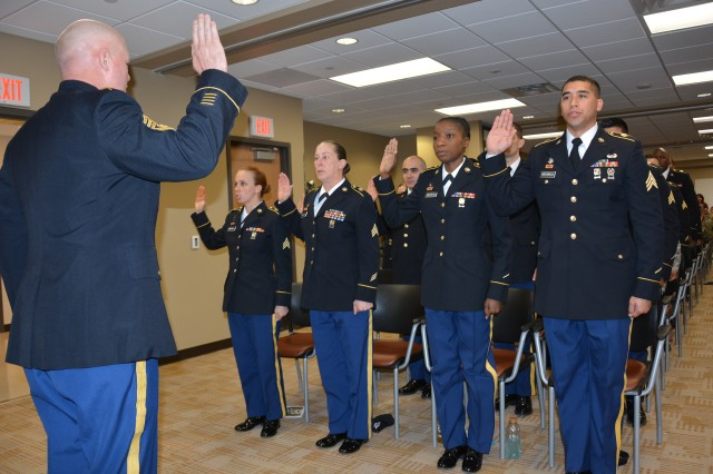 CRDAMC welcomes newest NCOs into the ranks Article The United