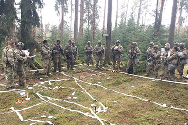 Troop leading procedures for the forward support company commander