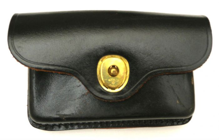 US Military Police Leather First Aid Pouch (Gold) Armynavysales