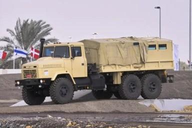 КрАЗ Рапотор в Абу-Дабі, 2007