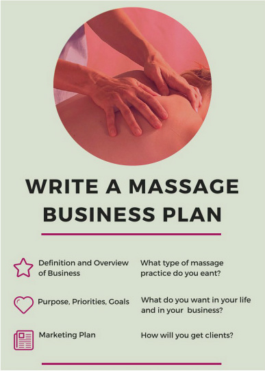 How To Write a Massage Therapy Business Plan Sample and Template