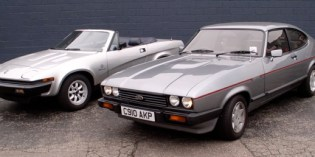 Head-to-Head : Ford Capri vs Triumph TR8