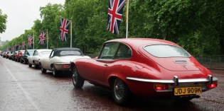 E-type 50 : Jaguar Drivers' Club organises 50 car convoy to Motorexpo 2011