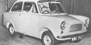 Hillman Imp : The prototypes