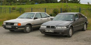 Drive Story : Rover 800 and Audi 100