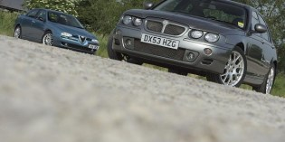 Tested : Alfa Romeo 156 vs MG ZT