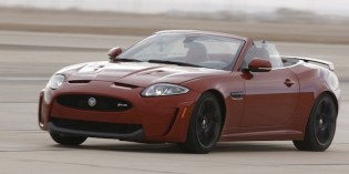 First Drive : Jaguar XKR-S Convertible