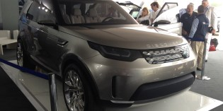News : LR Vision Concept breaks cover in the UK
