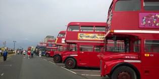 Buses : The 2014 Worthing Seafront Gathering