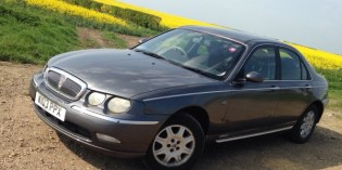 Our Cars : Meet the £300 Rover 75…