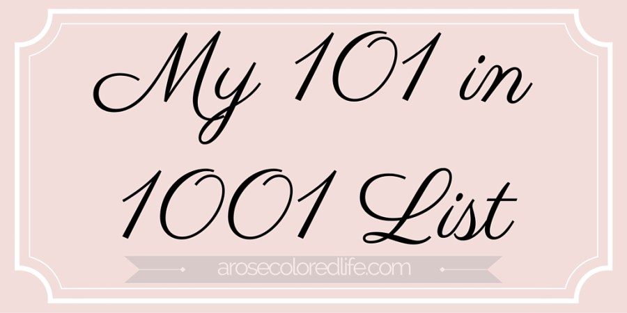 My 101 in 1001