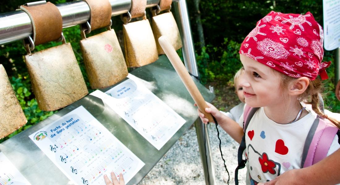Glockenspiel am Milchweg