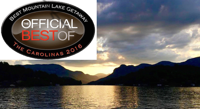 Lake Lure, NC Named 'Official Best Mountain Lake Getaway' 2016