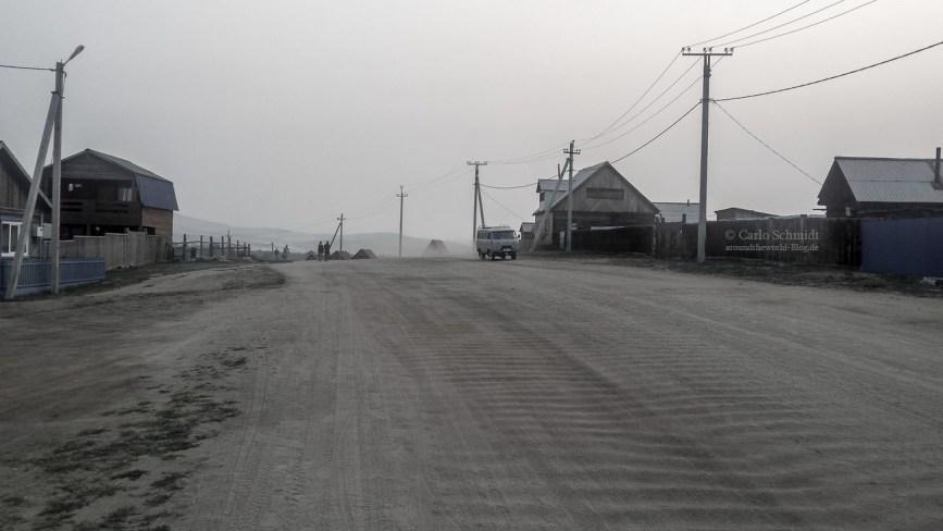 Straße auf Olchon
