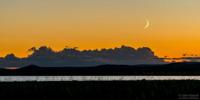 Sonnenuntergang über den Ögii See