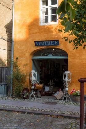 Antiquariat in Christiansfeld (Unesco)