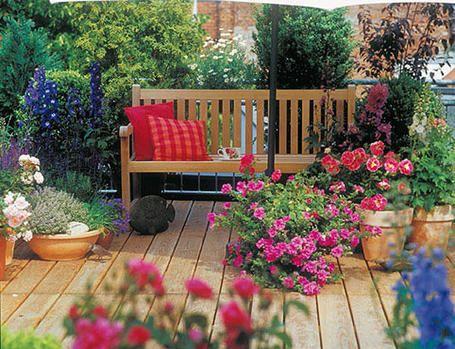 Decorar terrazas con plantas - Decoracion De Terrazas Con Plantas