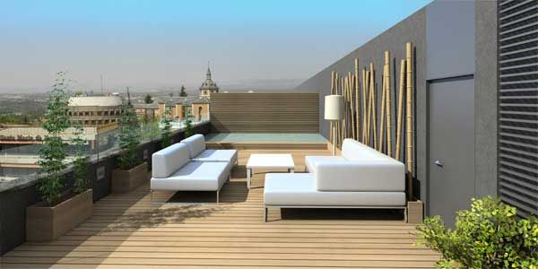 Resultado de imagen para techos para patios pequeños Terraza