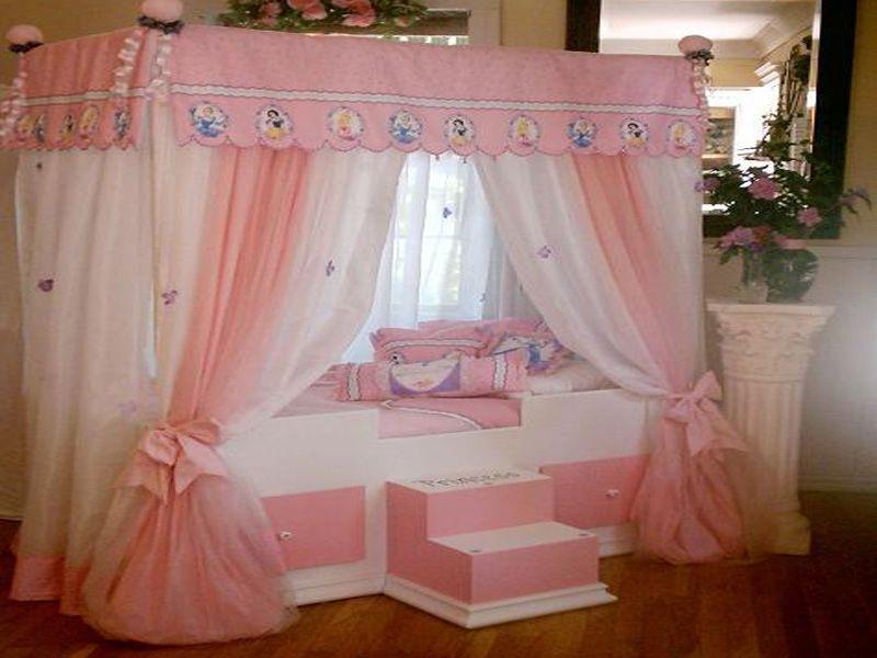 Dormitorios Infantiles De Ninas Al Estilo Princesa