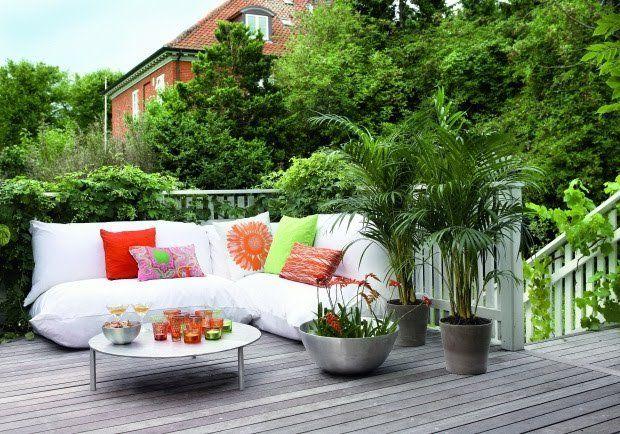 Como decorar una terraza con plantas - Decoracion De Terrazas Con Plantas