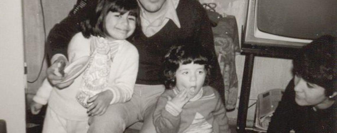 Carlos con Gabriela, Tere y sobrina