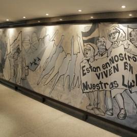 Inauguración Mural por la Memoria