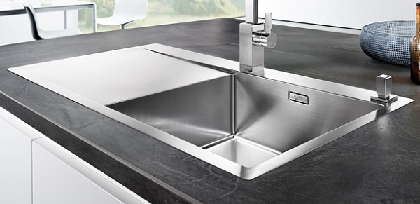 Blanco Flow Xl 6 S If R Est 10 Mm Stainless Steel Sink
