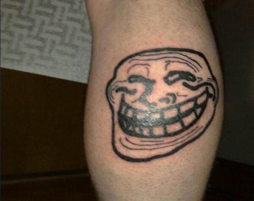 10 Tatuagens Engraçadas de Memes 10
