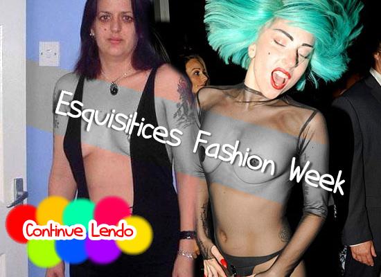 Esquisitices Fashion Week: É feio mas tá na moda!