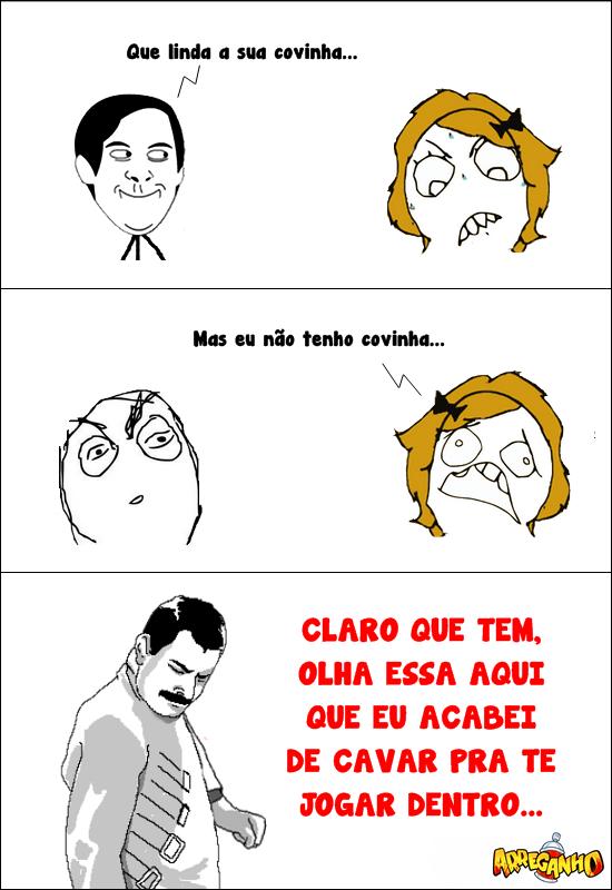 Linda covinha…