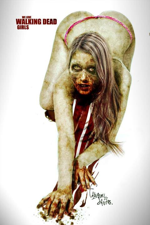 The Walking Dead Girls 15