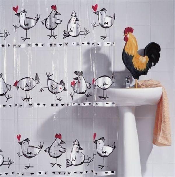 Cortinas Legais de Banheiro!