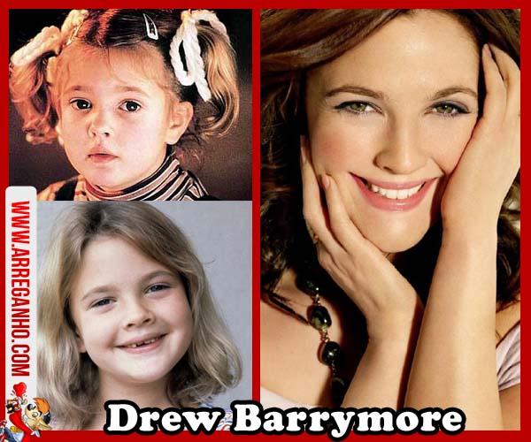 Top 10: Celebridades que vimos Crescer Dentro da Telinha - Drew Barrymore