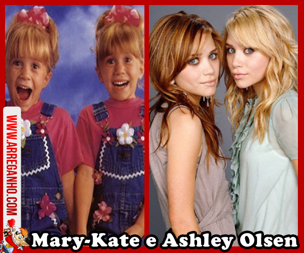 Top 10: Celebridades que vimos Crescer Dentro da Telinha - Mary Kate e Ashley Olsen