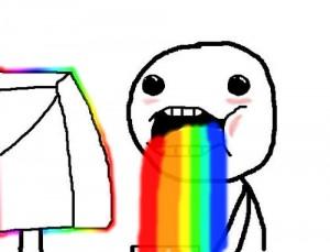 Rainbow Puke