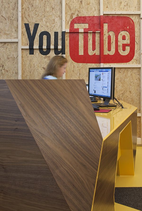 Fotos da Sede Do YouTube Em Londres