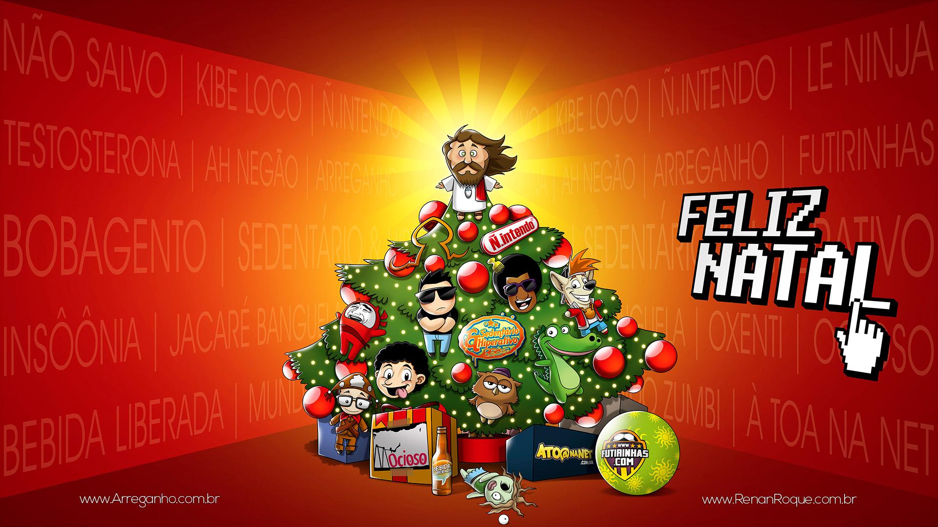 Feliz Natal – Árvore da Blogosfera