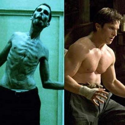 Antes e Depois da Academia