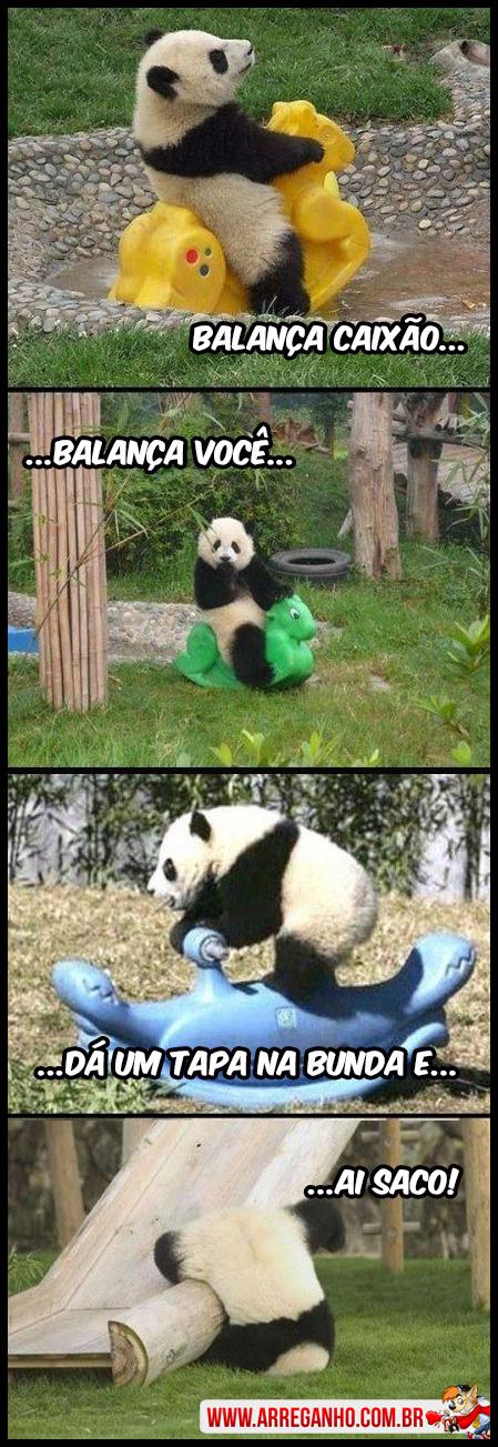 Panda Balança Caixão