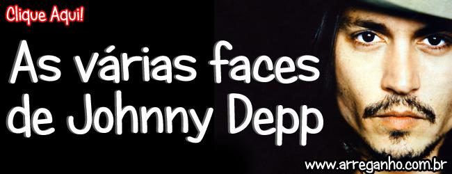 As várias faces de Johnny Depp