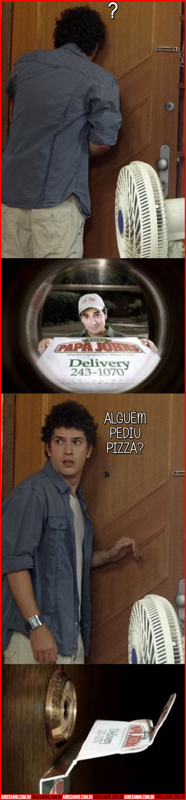 Trollagem do Entregador de Pizza