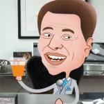 Como seria uma reunião de negócios com o Silvio Santos?