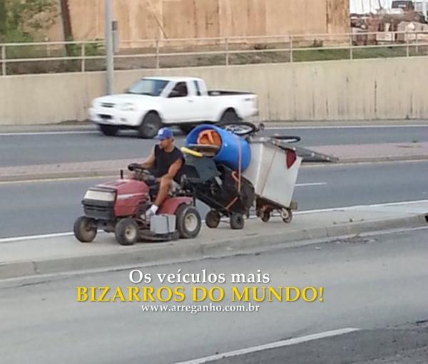 Os veículos mais bizarros do mundo!