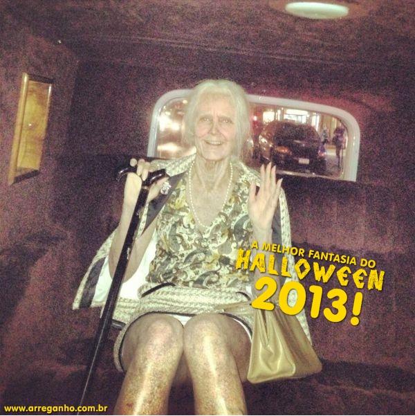 A melhor fantasia do Halloween 2013!