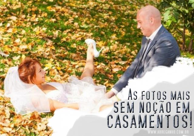 As fotos mais sem noção em casamentos!