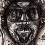 10 auto-retratos feitos após consumo de droga