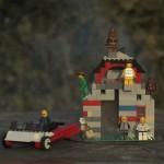 Já imaginou explodir uma casa de lego?