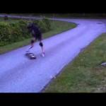 Quando um Skate bate bem no Membro