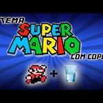 Tema de Super Mario Bros Tocado Com Copos