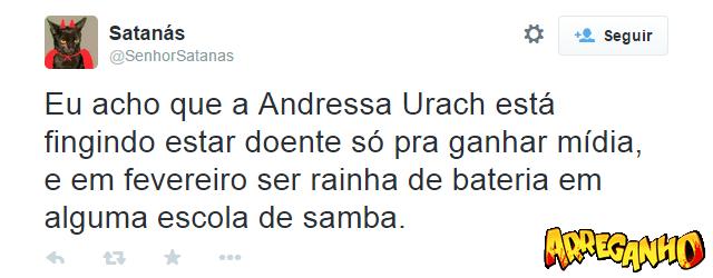 8 Comentários mais loucos sobre a polêmica de Andressa Urach